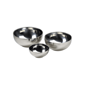 Stainless Steel Nested Bowls - set of 3