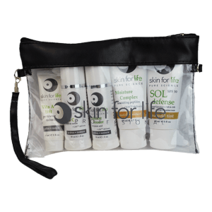 skin for life wristlet w/ product